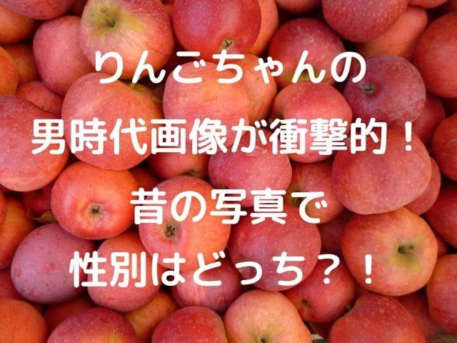 りんご た ゃ ん 性別