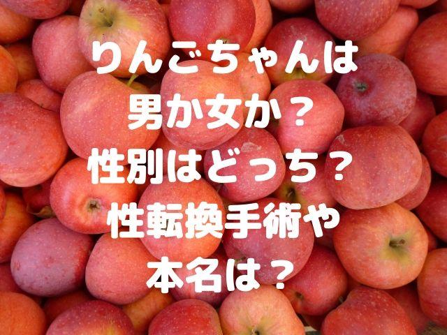 りんご ちゃん 性別 本名