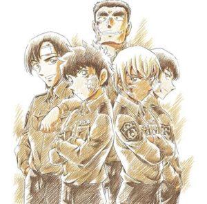 警察学校の同期5人組