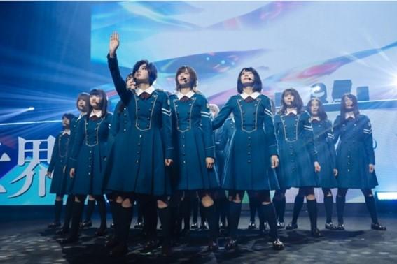 欅坂46の集合写真
